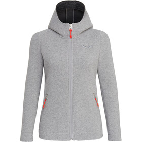Salewa Sarner 2L Wool Full-Zip Hoody Women silver